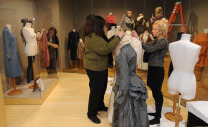 Students, faculty prepare for textiles exhibit