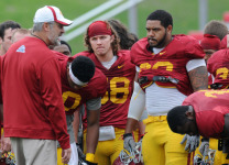Paul Rhoads, 2012 spring football game