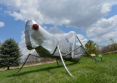 Grasshopper sculpture