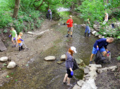 College Creek cleanup