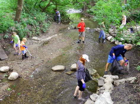 Creek Cleanup Nets 200 Pounds Of Trash Inside Iowa State