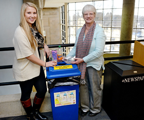 library recycling leaders