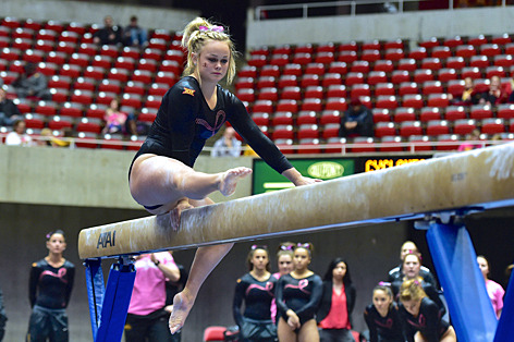 NCAA gymnastics meet is Saturday - Inside Iowa State for ...