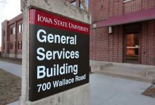 General Services Building sign