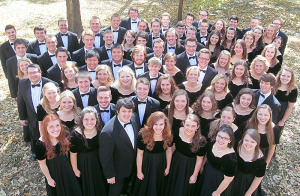 2015-16 Iowa State Singers group photo.
