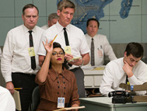 Katherine Johnson, played by actress Taraji P. Henson