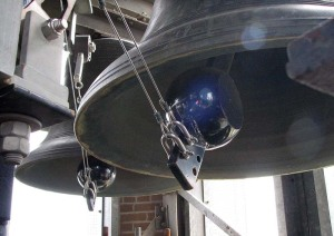Carillon bell in the chamber