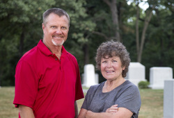 Doug Harjes and Cheryl Robinette